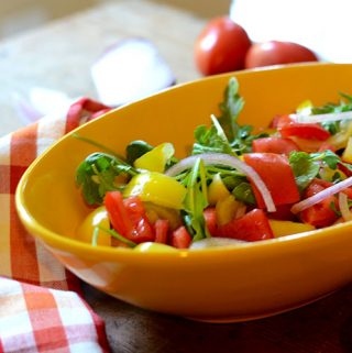 Pepper Tomato Salad