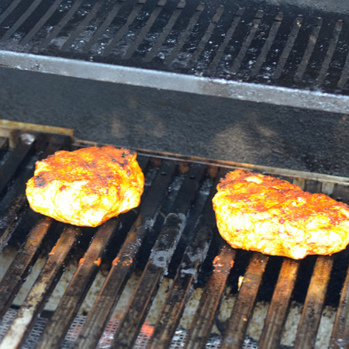 ground turkey, Mexican spices, achiote, marinade, burgers