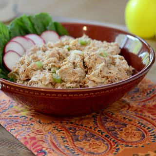 Yogurt Sriracha Tuna Salad