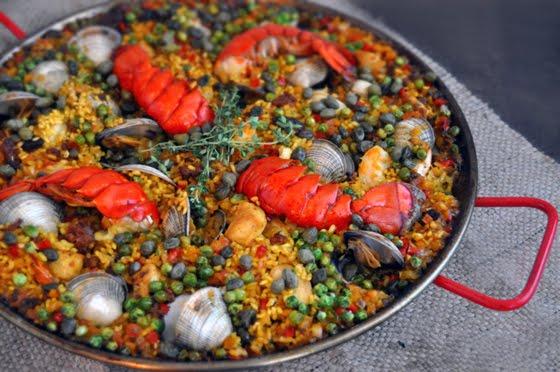 fideua spanish noodle paella recipe on food52 of paella a spanish ...