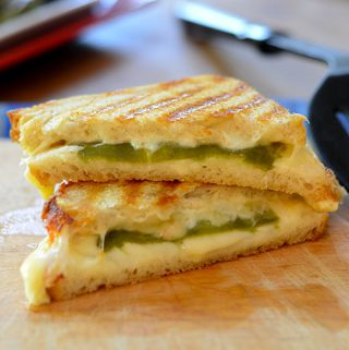 Hatch Chili Grilled Cheese