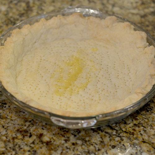 crust, holes