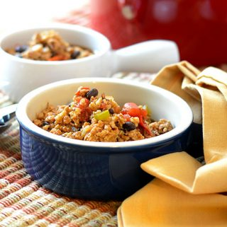 Ancho Turkey Chili