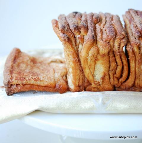 Cinnamon pull apart bread, Friday Five