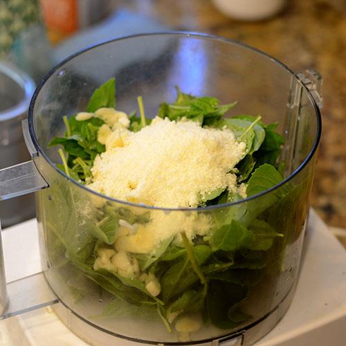 Pesto In cuisinart