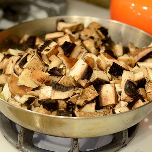 Mushrooms added