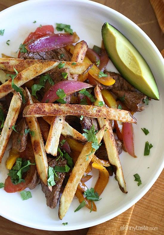 Peruvian Lomo Saltado (Beef-Stir-Fry), Friday Five