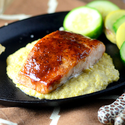 BBQ Salmon from Feed Your Soul Too