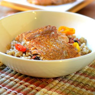 Mexican Spiced Salmon