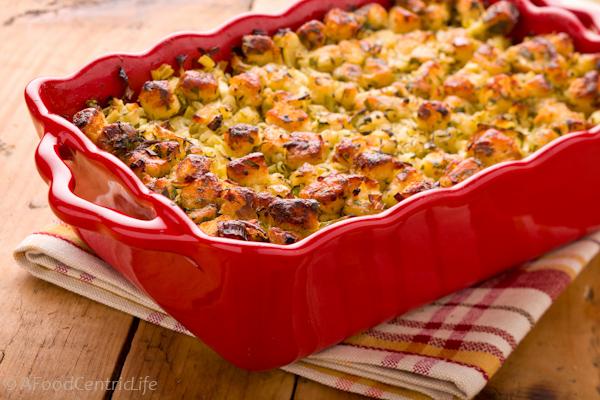 Turkey Stuffing, bread, herbs