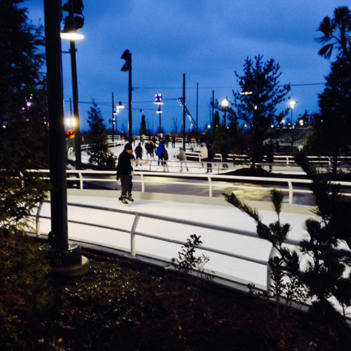 Maggie Daley Ice Rink, Chicago, Entertainment, Millennium Park
