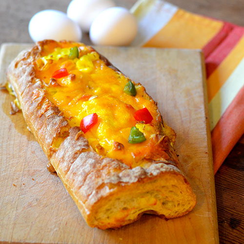 Baked Egg Boats from Feed Your Soul Too