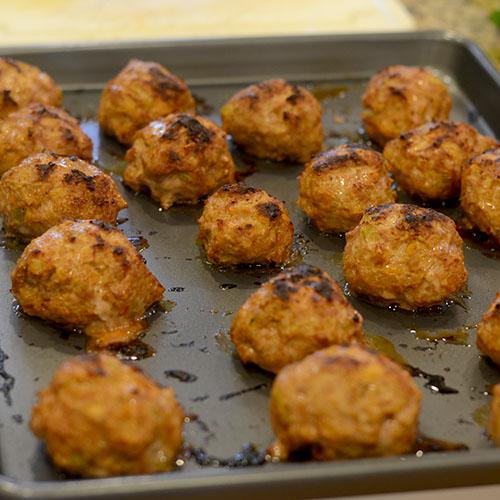 Meatballs Baked