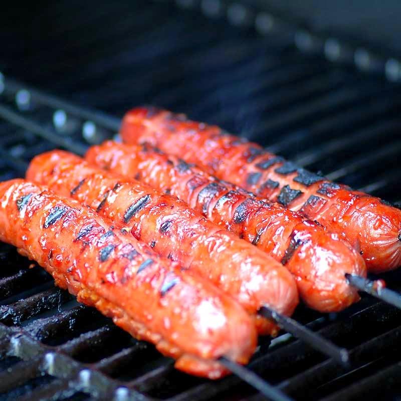 Crosshatch Hot dogs