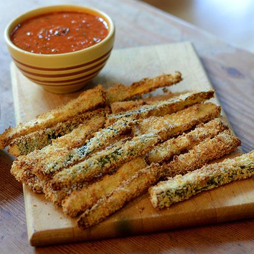 Healthy Zucchini & Squash Breadsticks