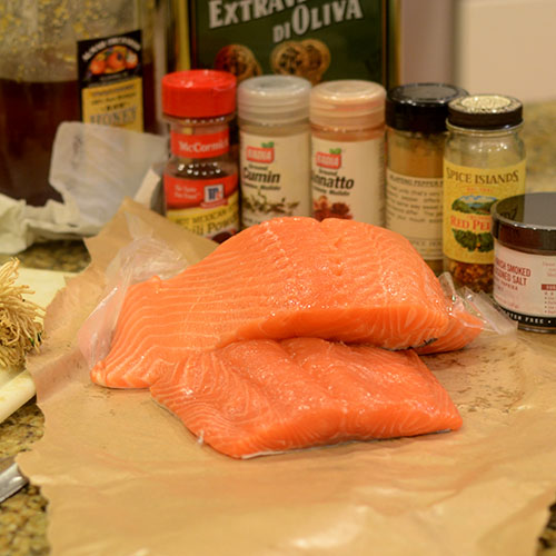 Salmon Ingredients