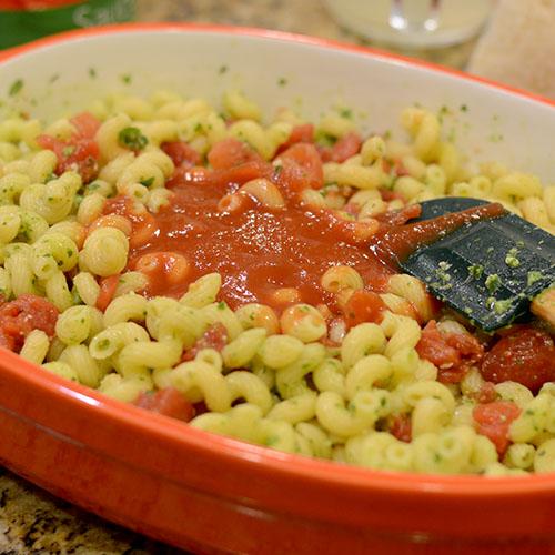 Tomato Sauce Added