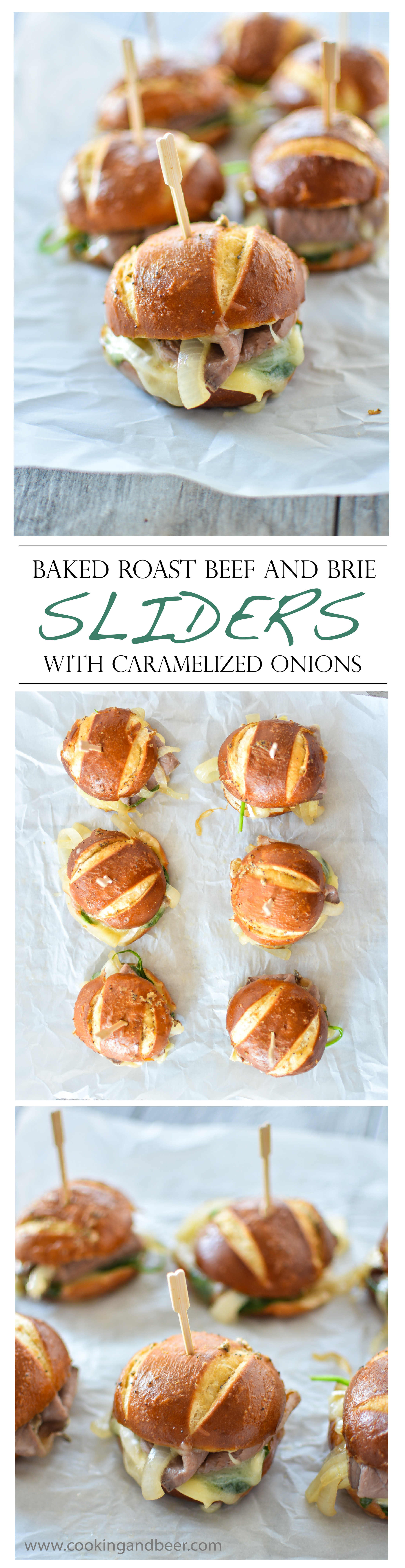 Roast Beef and Brie Sliders