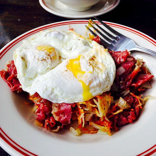 Corned Beef Hash at Little Goat