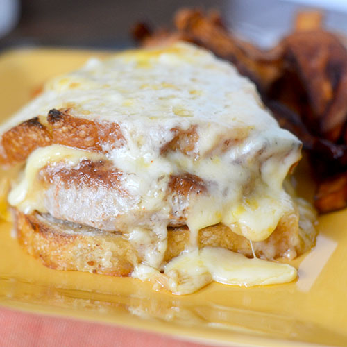 Croque Monsieur Burger