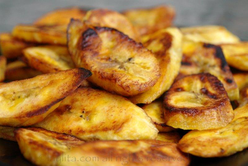 Fried Plantains or Platanos Maduros Fritos