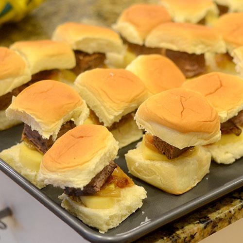 Sandwich Assembled