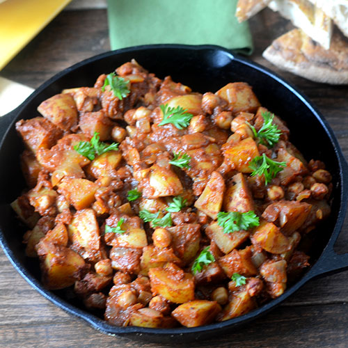 Turkish Chickpea & Potatoes
