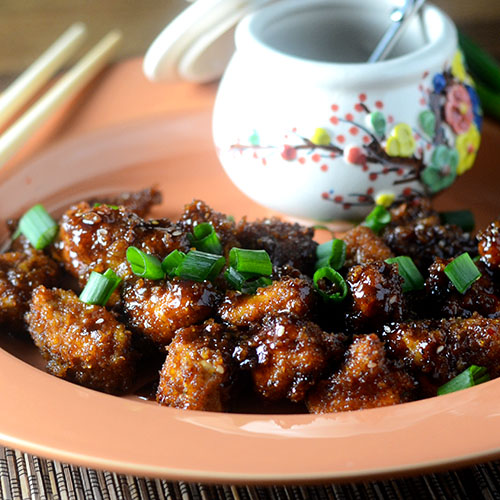 Asian Boneless Wings