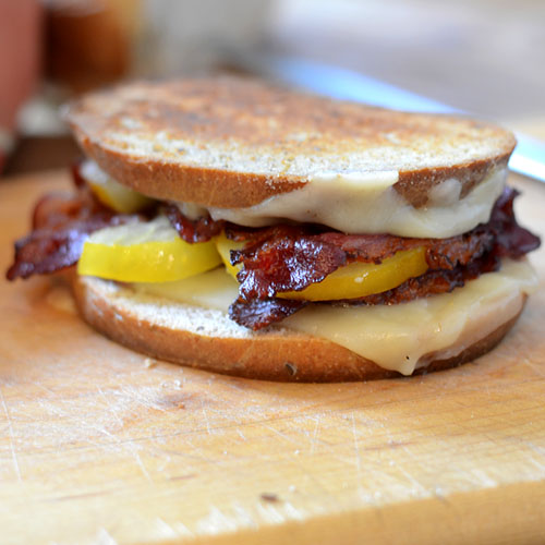 Facon Grilled Cheese