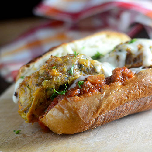 Turkey Meatball Sandwich