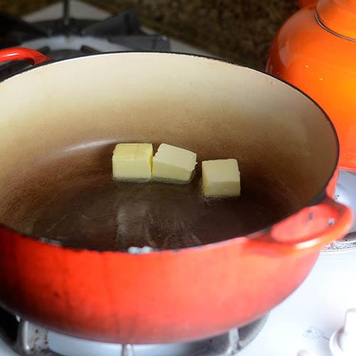 Butter Melting