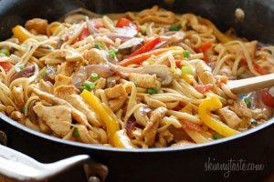 Cajun-Chicken-Pasta-on-the-Lighter-Side skinny taste