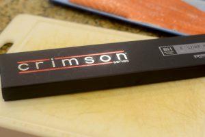 Crimson Knife in Case