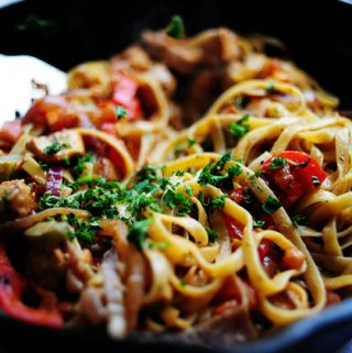 Friday Five – Cajun Chicken Pasta