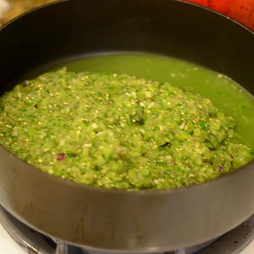 Roasting in Pan
