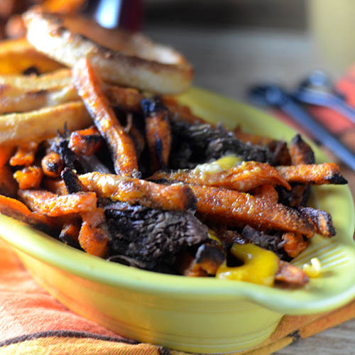 Sweet Potato Poutine
