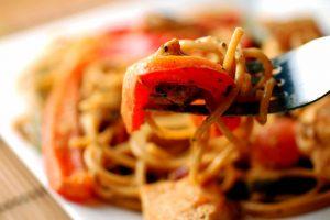 cajun-pasta-single-bite daily nibbles