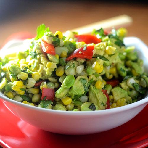 Edamame Avocado Salad