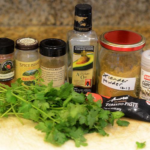 Masala Ingredients