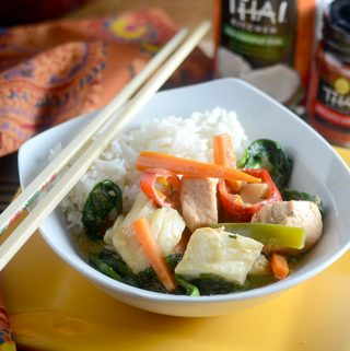 Red Thai Curry Fish