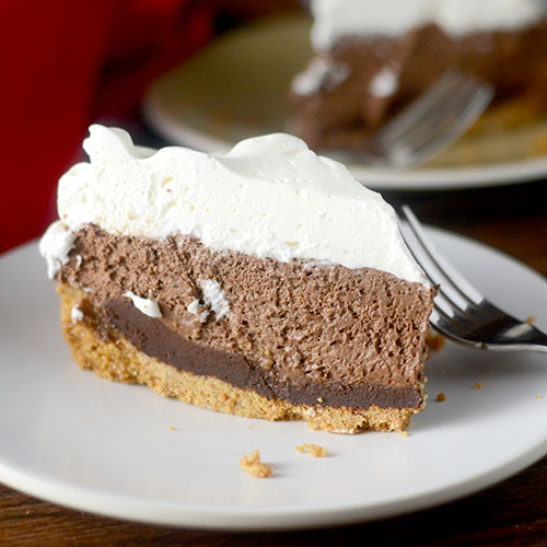 S'Mores Mousse Pie