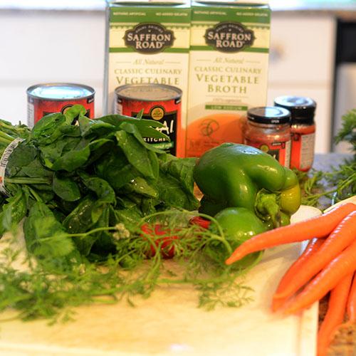 Thai Fish Vegetable Ingredients