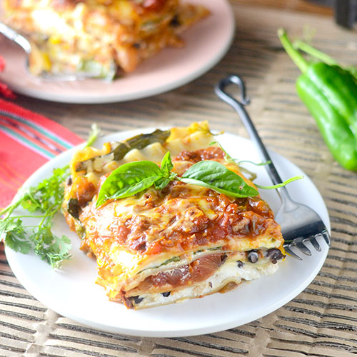 Mexican Lasagna from Feed Your Soul Too
