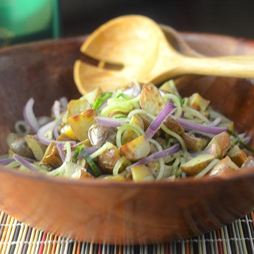 Grilled Potato Salad