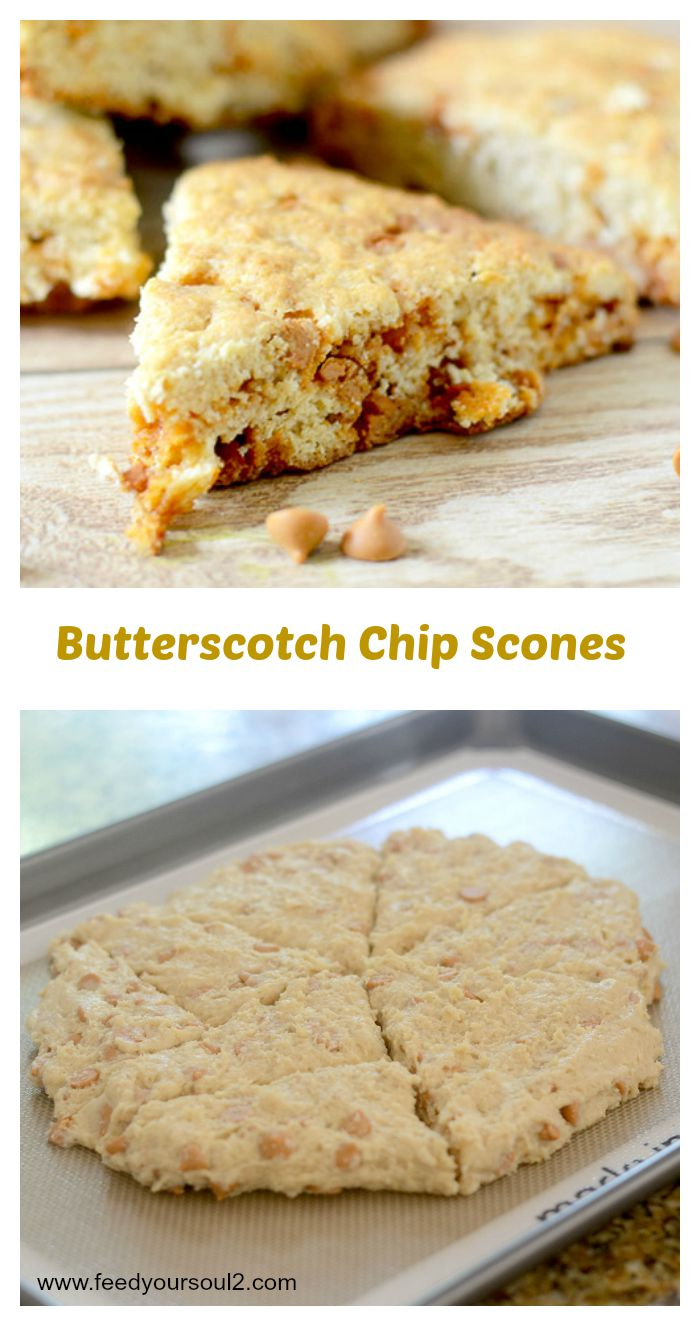 Butterscotch Chip Scones