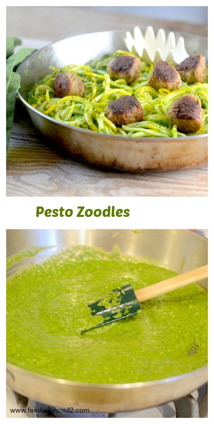 Pesto Zoodles