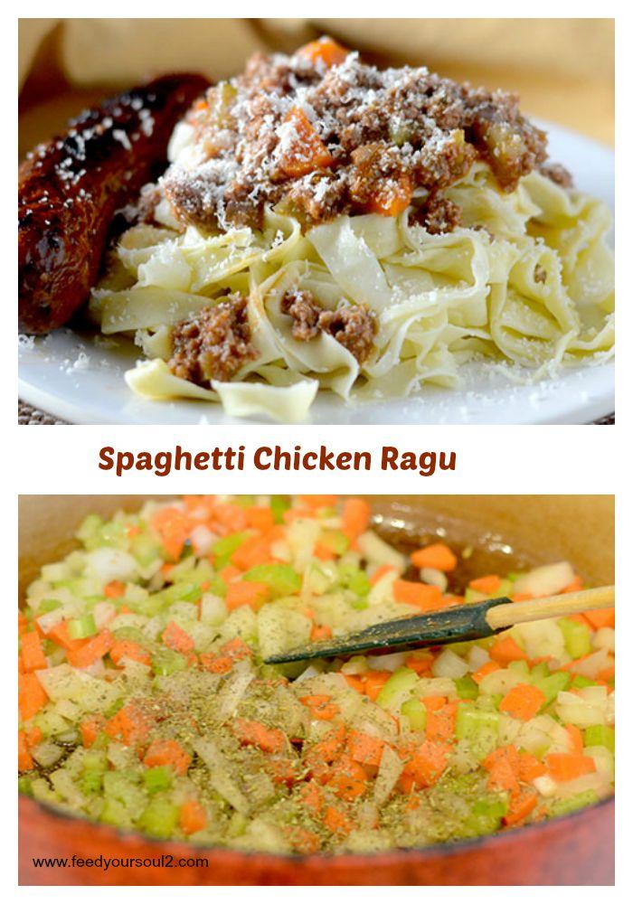 Spaghetti Chicken Ragu