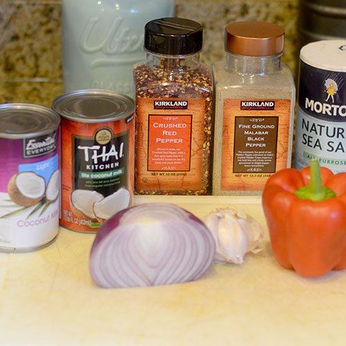 Red Pepper Sauce Ingredients