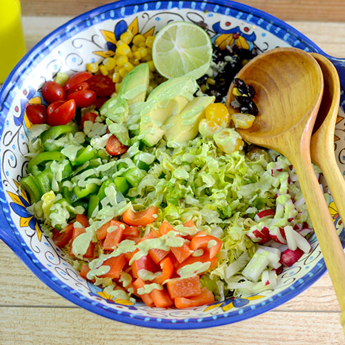 Avocado Cilantro Salad Dressing