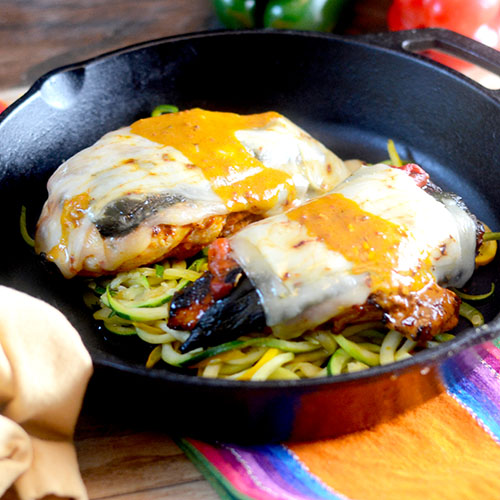 Mexican Chicken Parmesan